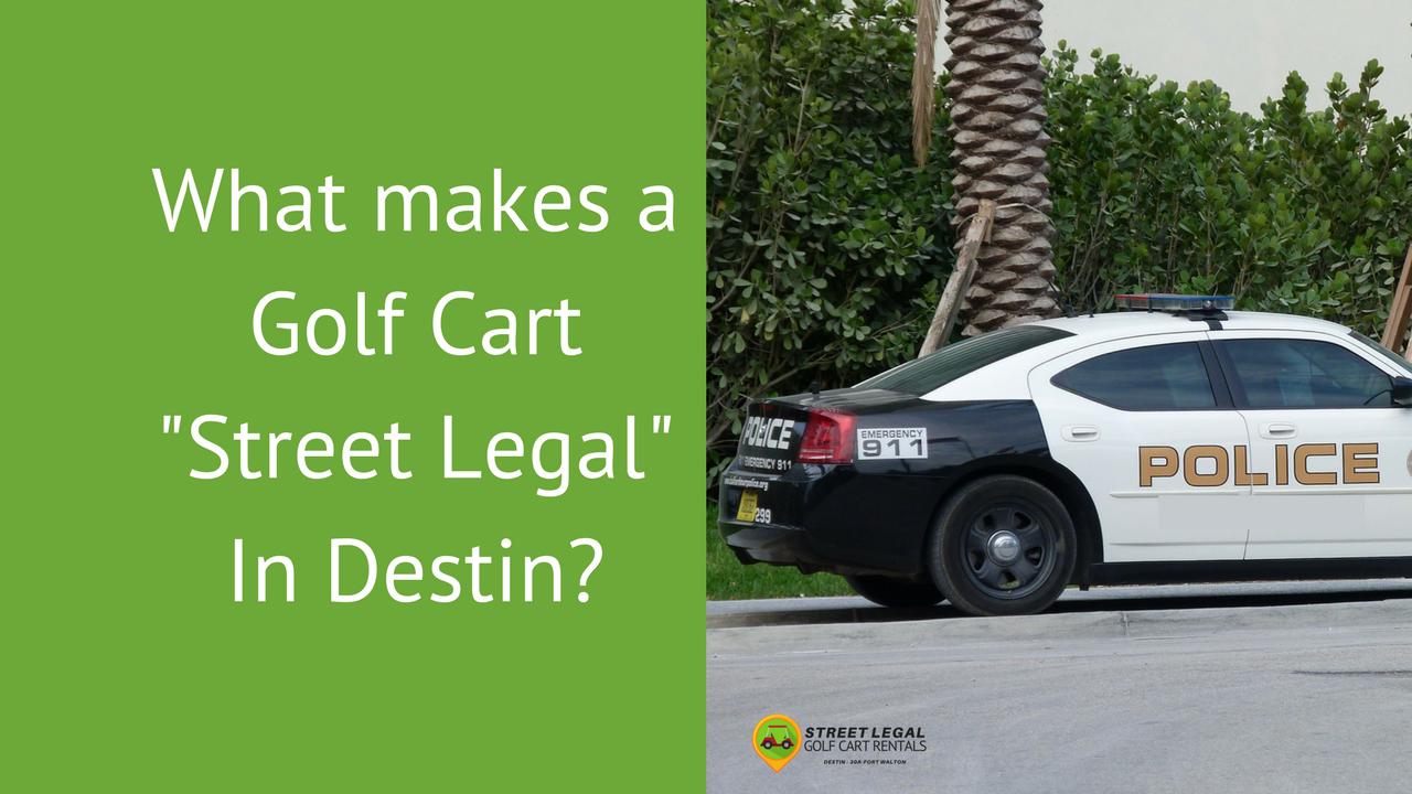 Destin Police Car