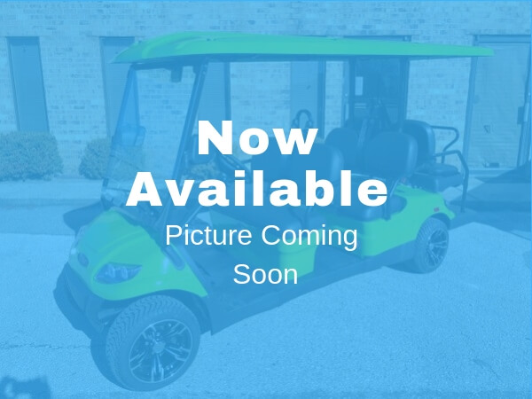 Green Six Seater Golf Cart For Rent in Destin Coming Soon
