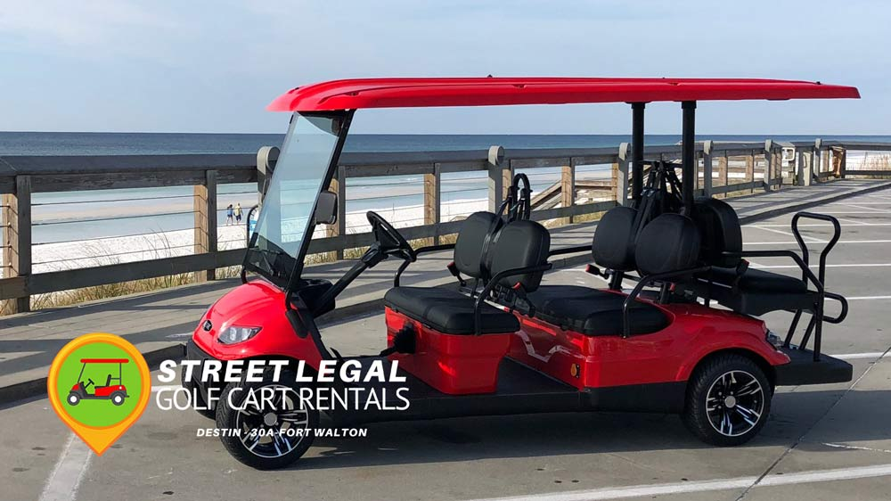 Street Legal Golf Cart Rentals Destin Santa Rosa Beach 30a