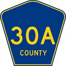 CR 30 Street Sign