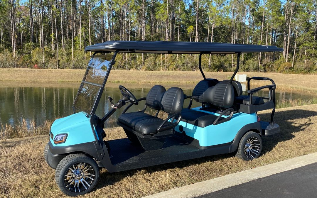 How Does the Golf Cart Rental Process Work?